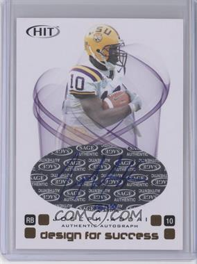 2006 SAGE Hit Design for Success Autographs [Autographed] #D-30 - Joseph Addai