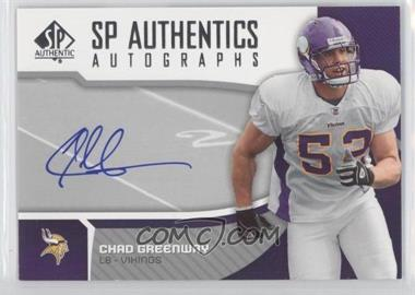 2006 SP Authentic - Autographs #SP-CG - Chad Greenway