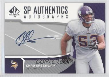 2006 SP Authentic Autographs #SP-CG - Chad Greenway