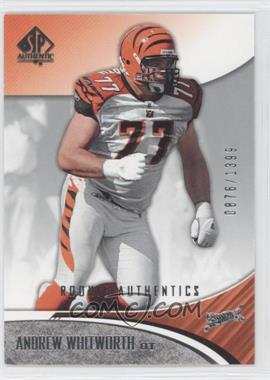 2006 SP Authentic #125 - Andrew Whitworth /1399