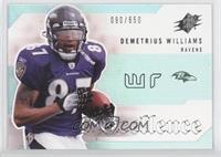 Demetrius Williams /650