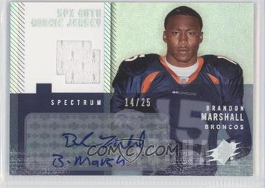 2006 SPx Spectrum #208 - Brandon Marshall /25