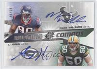 Mario Williams, A.J. Hawk /50