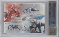 Larry Johnson, DeAngelo Williams /50 [BGS 9]