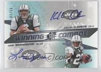 Leon Washington, Kellen Clemens /50
