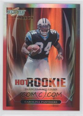 2006 Score Select Hot Rookies Red Zone #6 - DeAngelo Williams /25