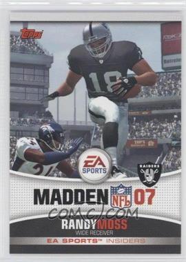 2006 Topps - EA Sports Insiders #19 - Randy Moss