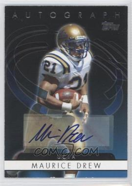 2006 Topps Autographs #T-MD - Maurice Drew