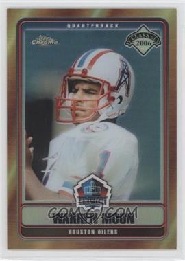 2006 Topps Chrome Hall of Fame Refractor #HOFT-WM - Warren Moon /100