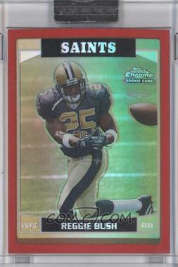 2006 Topps Chrome Red Refractor #221 - Reggie Bush /25
