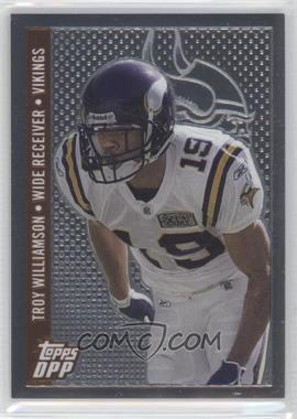 2006 Topps Draft Picks and Prospects (DPP) Chrome Bronze #36 - Troy Williamson /499
