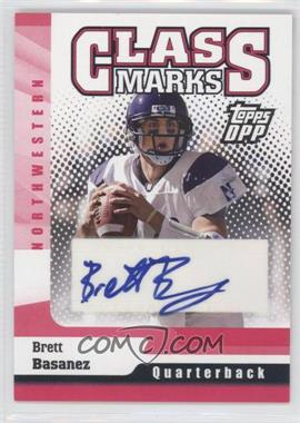 2006 Topps Draft Picks and Prospects (DPP) Class Marks #CM-BB - Brett Basanez