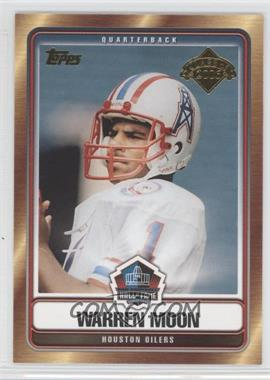 2006 Topps Hall of Fame Class of 2006 #HOFT-WM - Warren Moon