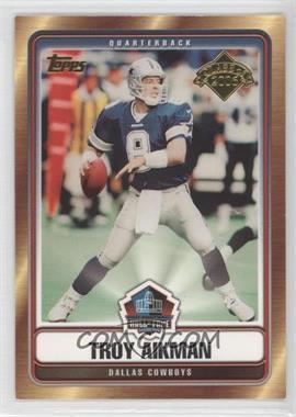 2006 Topps Hall of Fame #HOFT-TA - Troy Aikman