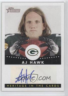 2006 Topps Heritage Heritage in the Cards Autographs #HCA-AH - A.J. Hawk