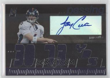 2006 Topps Paradigm Career Highs Autographed Triple Relic #TPCHR-JC - Jay Cutler /99