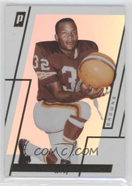 2006 Topps Paradigm Gold #11 - Jim Brown /25