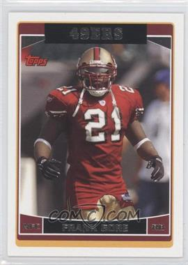 2006 Topps San Francisco 49ers #SF4 - Frank Gore