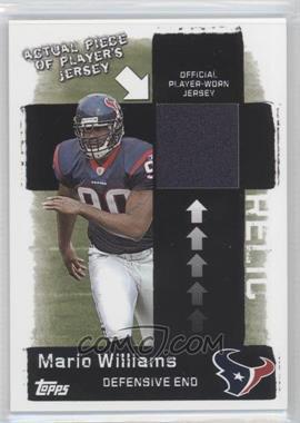 2006 Topps Target Jerseys #5 - Mario Williams