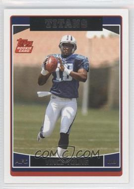 2006 Topps Tennessee Titans #TEN11 - Vince Young