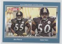 Joey Porter, Larry Foote