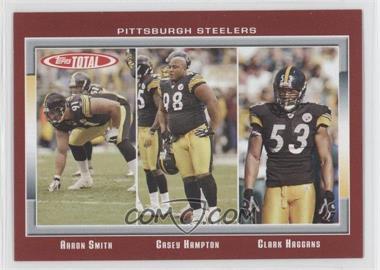 2006 Topps Total - [Base] - Total Red #164 - Aaron Smith, Casey Hampton, Clark Haggans