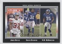 James Butler, Curtis DeLoatch, R.W. McQuarters /50