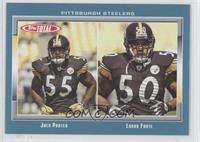 Joey Porter, Larry Foote