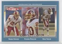 Shawn Springs, Pierson Prioleau, Sean Taylor