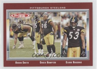 2006 Topps Total Total Red #164 - Aaron Smith, Casey Hampton, Clark Haggans