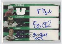 LenDale White, Reggie Bush, Matt Leinart /18