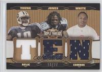 Adam Jones, Vince Young, LenDale White /27