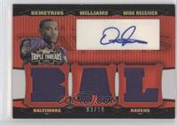 Demetrius Williams /18
