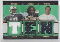 Adam Jones, Vince Young, Adrian Jones, LenDale White /18