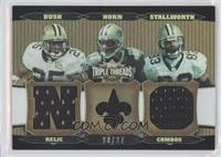 Reggie Bush, Joe Horn, Donte Stallworth /27