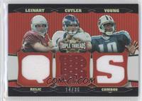 Jay Cutler, Vince Young, Matt Leinart /36