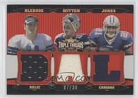 Drew Bledsoe, Jason Witten, Julius Jones /36