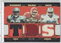 Shaun Alexander, Priest Holmes, Emmitt Smith /36