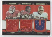 LaVar Arrington, Michael Robinson, Larry Johnson /36