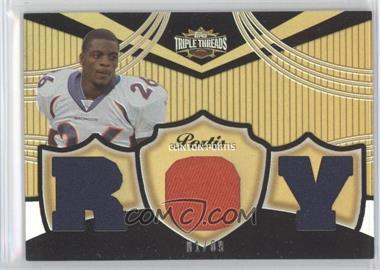 2006 Topps Triple Threads Relics Gold #TTR-103 - Clinton Portis /9