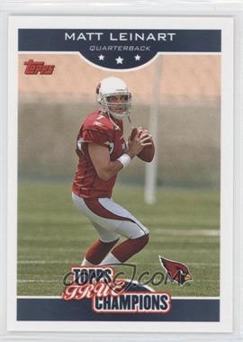 2006 Topps Wal-Mart True Champions #7 - Matt Leinart