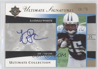 2006 Ultimate Collection [???] #US-LW - LenDale White /75