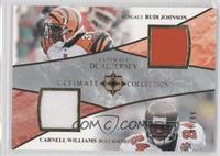Rudi Johnson, Cadillac Williams /99