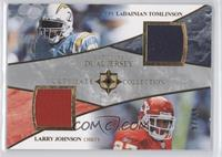 LaDainian Tomlinson, Larry Johnson /99