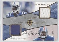 Reggie Wayne, Sinorice Moss /99