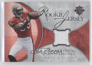 2006 Ultimate Collection Ultimate Rookie Jersey #UR-MS - Maurice Stovall /99