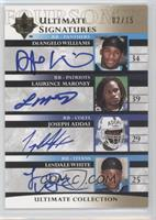 DeAngelo Williams, Laurence Maroney, Joseph Addai, LenDale White /15