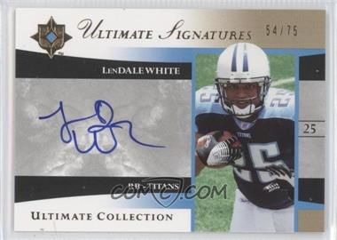 2006 Ultimate Collection Ultimate Signatures #US-LW - LenDale White /75