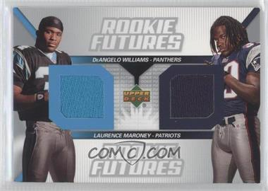2006 Upper Deck - Rookie Futures Dual #RF2-WM - Laurence Maroney, DeAngelo Williams