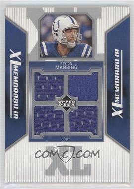 2006 Upper Deck - XL Memorabilia #XL-PM - Peyton Manning